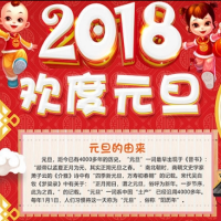 2018元旦手抄报大全最新版