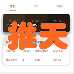 推天(专业电商推广)手机版1.0 安卓