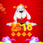 2018春节手抄报素材高清无水印版
