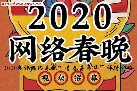 """2020央视网络春晚""""青春嘉年华""""详情介绍"""