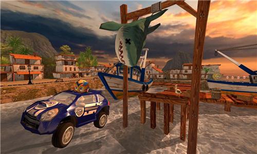 沙滩赛车竞速